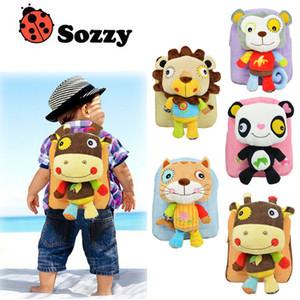 25cm 어린이 SOZZY 러블리 만화 동물 어린이 학교 sbackpacks 아기 봉제 숄더 백