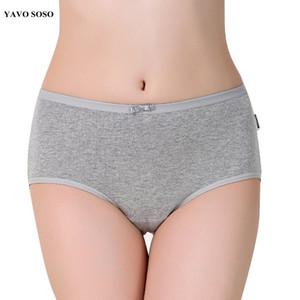 YAVO SOSO recién llegado de algodón underwears bragas de las mujeres más el tamaño 5XL dulces colores ropa interior escritos de las mujeres