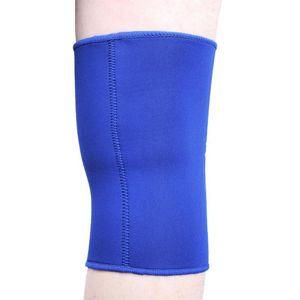 2pcs Breathable Knee Support Protect Fitness Running Cycling Braces Kneepad Elastic Neoprene Sport Gym Knee Pad Sleeve Black