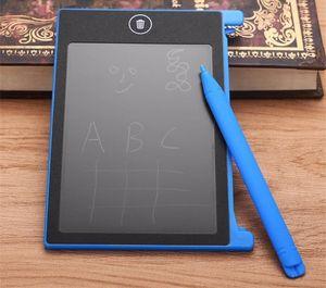 2018 새로운 4.4 인치 어린이 LCD 태블릿 쓰기 보드 그리기 패드 메시지 보드 참고 디지털