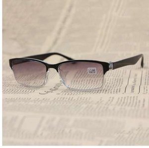 Men Women Reading Glasses Presbyopic Square Black Eyeglasses Frame Anti-Fatigue Ultraviolet-Proof 1.0 To 4.0 R153