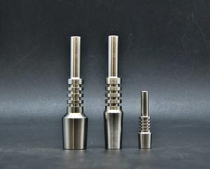Mini Titanspitze Nectar Collector Tip Titan Nagel Männlichen Joint Micro NC Kit Invertierte Nägel Länge 40mm Ti Nagel Tipps Shisha DHL 198