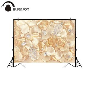 En gros photographie toile de fond luxe fleur bijoux pétales fond photocall photobooth personnaliser tissu prop professionnel