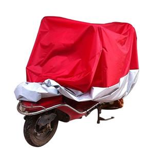XXL 180T Universal Motorcycle Cover UV Protector impermeable lluvia a prueba de polvo antirrobo scooter de motor cubre MBA_60D