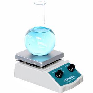 Agitador magnético do laboratório SH-2 com a placa quente do misturador do misturador do laboratório do aquecimento Placa quente com a barra magnética da agitação do misturador do líquido SH-2