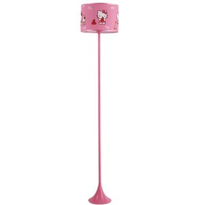 OOVOV Pink Princess Room Cat Floor Lamp Girls Room Cartoon Floor Lamps Bay Room Floor Light