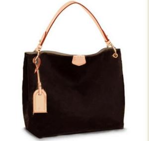 2018 новая мода высокое качество натуральная кожа женщины изящные 43703 сумка Сумка Сумка 35 см и 40 см