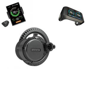 Gratuit Bafang Ebike Kit BBS02B 48V500W Électrique Vélo Vélo Moteur Mid Drive Ebike LCD Ordinateur Cutoff Capteur De Frein