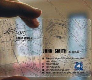 200шт,пользовательские визитная карточка печать,пластик прозрачный ПВХ визитная карточка,Подгонянные ясные водонепроницаемый ВИП визитная карточка,8.5х5.4см