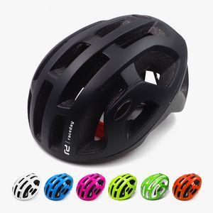 Sıcak hafif bisiklet kaskı erkekler pnömatik yol mtb dağ bisikleti kask Ciclismo bisiklet donanımları mat ultralight