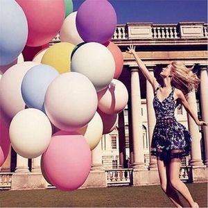 All'ingrosso di alta qualità 36 pollici Extra Large rotonda Palloncino di compleanno palloncino decorazione Wedding Latex Balloon T2I409