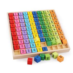 Таблица умножения Математические игрушки Раннее образование Деревянные игрушки для детей Детские арифметические учебные пособия бесплатная доставка