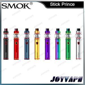 100% Аутентичные SMOK Stick Принц Комплект Pen Стиль 3000 мАч Аккумулятор Vape Pen Стартовые Наборы С 8 мл TFV12 Принц Танк