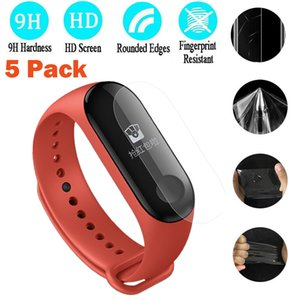 5PC Tempered Glass Screen LCD Full cCover Screen Protector Film For Xiaomi Mi Band 3