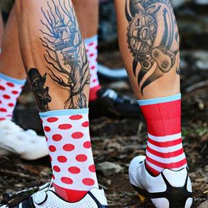 Новые Велосипедные носки Мужские спортивные профессиональные дышащие компрессионные носки Велосипедные носки Calcetines Ciclismo Пот и воздухопроницаемость