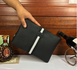 2018 Hot Men's PU Wallet Men's Clutch Bag Casual Long Business Men's Wallet Black Brown Wallet