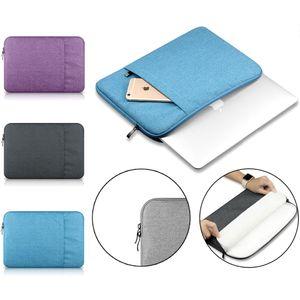 """Laptop Notebook Sleeve 11 12 13 de 15 polegadas para MacBook Air Pro Retina Display 12.9 """"iPad capa Soft Bag Case para Apple Samsung Computer"""