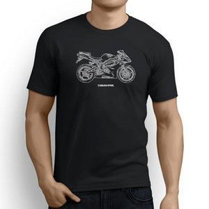 Triumph Daytona 675 2012 Inspired Motorcycle Art Camiseta de hombre