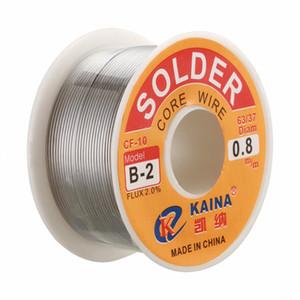 Wholesale Brand New 63 37 0.8mmTin Lead Rosin Core Wire Solder Flux Soldering Welding Iron Reel