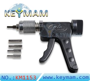 Original KLOM Dietriche Gun Schlosser Werkzeug Schnell Gun Federdrehwerkzeug Pick-Guns Lockpicking Werkzeug-Verschluss-Öffner
