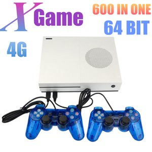 HD X Game Console 64 Bit 4GB Video Game Player puede almacenar 600 juegos Controller Support Micro SD Card For Kids Child