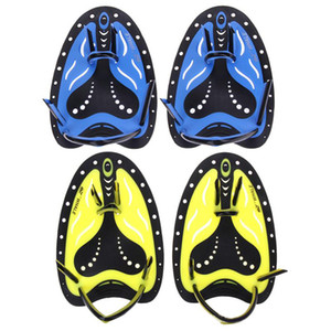 Training Swimming Paddles Silicone Hand Webbed Swimming Gloves Padel Fins Flippers For Adults and Child