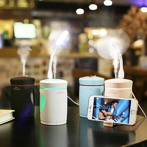 Nuovo Woodpecker Air Umidificatore 5 in 1 Umidificatore multifunzione Portatelefono USB Aroma Diffusore Purificatore d'aria Per Home Car Office