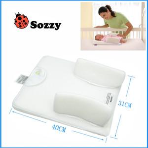 Cuscino per il sonno del bambino Evita il vomito del latte e gira il corpo Materassini per neonati Materiale di protezione ambientale in stoffa 29tj ff