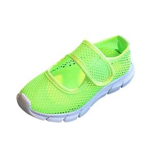 WEIXINBUY Bebé Niños Niñas Zapatillas de deporte Niños Zapatos ocasionales Primavera Verano Moda Dulces Red transpirable Zapatillas deportivas