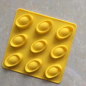 DIY приготовления плесень 9 бумага Yuen Bo силикагель шоколад модель льда модель сахар искусство глины модель высокая температура легко очистить