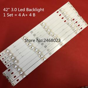 """Tira de retroiluminación LED de 825 mm 8 leds para LG 42 pulgadas TV INNOTEK DRT 3.0 42 """"6916L 1709B 1710B 1957E 1956E 6916L-1956A 6916L-1957A"""