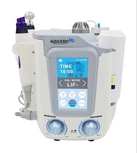 3in1 Aquasure pele hidrogênio facial Hydra máquina dermoabrasão aquático descascando microdermoabrasão equipamento da beleza microcorrente face lift
