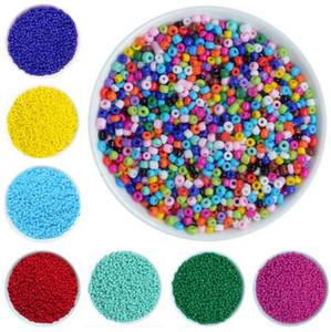 1000 Pçs / lote 2mm de Cristal De Vidro Contas Missangas Soltas Miyuki Spacer Hama Beads Para Fazer Jóias DIY Perles Berloque