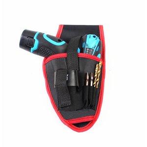 Kostenloser versand tuch werkzeugtasche 12 v schnurlose bohrer taille hängen tasche multifunktionswerkzeug tasche elektriker hardware repair kit sehr nützlich