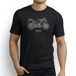 Aprilia RS125 2017 Inspired Motorcycle Art Camiseta hombre