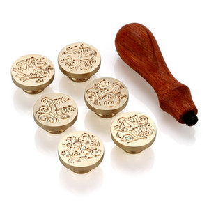 Alphabet Initial Wax Seal Stamp (thankyou,Foryou,love,Goodluck,Missyou,Myfriend)