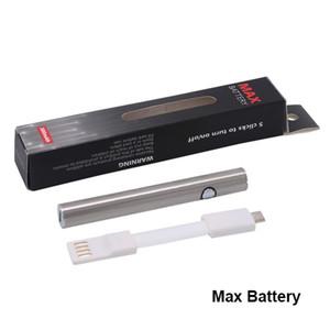 Hot Original Amigo Max Vorheizen Batterie 380mAh Variable Voltage Bottom Charge 510 Batterie für dicke Ölverdampfer Pen vape Patronen