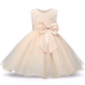 Новорожденный ребенок платье Kids Party Wear Princess Костюм для девушки Пачка Bebes младенца 1 2 Год рождения: платья лета девушки красные одежды