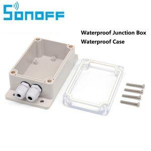 Sonoff IP66 Caixa De Junção À Prova D 'Água À Prova D' Água Caso Shell-resistente À Água Sonoff Suporte Básico / RF / Dual / Pow para Luzes Da Árvore de Natal