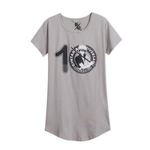 Asian Size Japan Anime One Size Gintama Sakata Gintoki Costume Cosplay Unisex Manica corta T-Shirt Tee Vestito allentato Pigiama