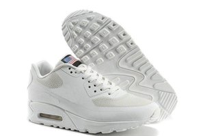 nike Chaussures hommes 90 HYP PRM QS Vente de chaussures de course en ligne Fashion Independence Day Zapatillas Drapeau USA Sneakers de sport 36-45