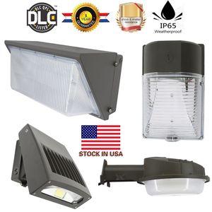 Duvar paketi led aydınlatma 20 W 30 W 50 W 80 W 100 W 120 W led güçlendirme kitleri duvar paketi ışık fikstür led shoebox ışık + ABD'de stok