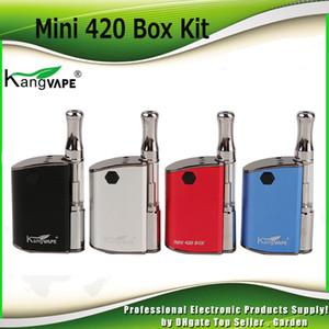 Kits de inicio KangVape Mini 420 originales Batería de precalentamiento de 400 mAh con aceite grueso Cartucho de bobina de cerámica de 0,5 ml 100% auténtico