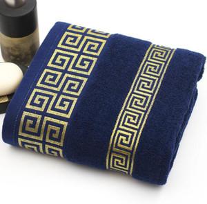 Suaves toallas de baño grandes de algodón absorbente Playa del baño de la cara de algodón Toalla Inicio Baño Hotel Para Adultos Niños