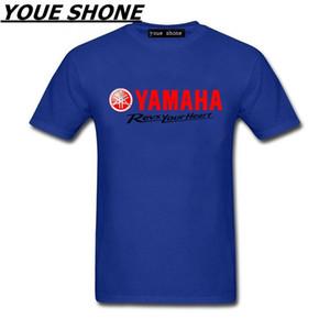 남성 패션 짧은 소매 100 %면 티셔츠 오토바이 티셔츠 YAMAHA 셔츠 브랜드 여름 새로운 YAMAHA MT 09 t 셔츠 남성 티