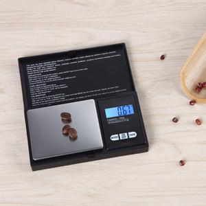 Mini Pocket Scale numérique 0,01 x 200g Monnaie d'argent Bijoux en or Pestion Balance LCD Échelle de bijouterie numérique Échelier