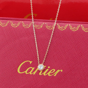 Nueva marca famosa joyería 316L Acero titanio 18K collar chapado en oro rosa cadena corta collar de plata colgante para regalo de pareja