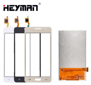 Pantalla LCD con pantalla táctil para Samsung Galaxy Grand Prime LTE G530F G530H SM-G530 Pantalla LCD Digitalizador Panel de vidrio Reemplazo frontal Partes