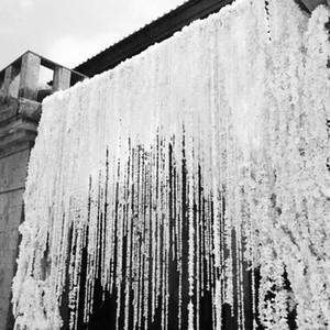 79 Zoll Jeder Streifen Orchidee Glyzinien Reben Weiß Seide Künstliche Blume Kränze Für Hochzeit Dekoration Foto Requisiten Lieferungen
