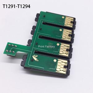 T1291 Réinitialiser la puce combo CISS pour Epson SX525WD SX620FW SX445 SX535WD BX525WD BX625FWD BX925FWD BX925FW BX535WD BX635FWD BX935FWD